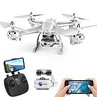RC Drone XINGYUCHUANQI S6 RTF 4 Kanaler 6 Akse 2.4G Med HD-kamera 5.0 1080P Fjernstyret quadcopter En Knap Til Returflyvning / Hovedløs Modus / Adgang Til Real-Tid Optagelser Fjernstyret Quadcopter
