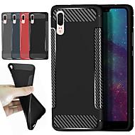 Etui Til Xiaomi Redmi S2 / Mi 8 Stødsikker / Syrematteret Bagcover Ensfarvet / Linjeret / bølget Blødt TPU for Redmi Note 5A / Xiaomi Redmi Note 5 Pro / Xiaomi Redmi Note 4X