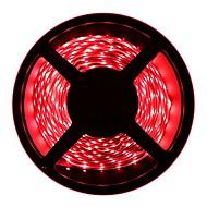 Χαμηλού Κόστους Φωτιστικά Λωρίδες LED-HKV 5m Ευέλικτες LED Φωτολωρίδες 300 LEDs 3528 SMD Θερμό Λευκό / Ψυχρό Λευκό / Κόκκινο Μπορεί να κοπεί / Συνδέσιμο / Αυτοκόλλητο 12 V