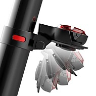 billige Sykkellykter og reflekser-sikkerhet lys / Baklys LED Sykling Vanntett, Justerbar, Fort Frigjøring 50 lm Oppladbart / Strøm Rød Camping / Vandring / Grotte Udforskning / Sykling