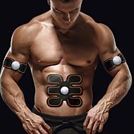 baratos Equipamentos & Acessórios Fitness-Estimulador ABS / Cinto de Tonificação Abdominal Com 3 pcs Sem Fio Queimador De Gordura De Barriga, Tonificação Abdominal, Construtor Muscular Para Exercício e Atividade Física / Ginásio / Musculação