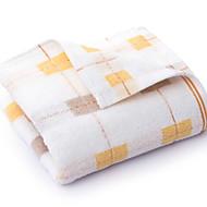 billige -Overlegen kvalitet Badehåndkle, Geometrisk 100% bomull Baderom 1 pcs