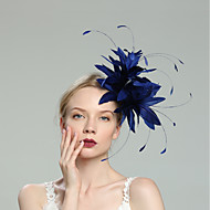 Perje Fascinators s Perje / Jedna boja 1pc Vjenčanje / Special Occasion Glava