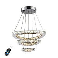 billige Takbelysning og vifter-UMEI™ Sirkelformet / Krystall / Geometrisk Lysekroner Omgivelseslys - Justerbar, Mulighet for demping, Nytt Design, 110-120V / 220-240V, Varm Hvit / Hvit / Dimbar med fjernkontroll, LED lyskilde