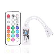 billige belysning Tilbehør-ZDM® 1pc SMD 3528 / SMD 5050 Smart / Wifi / Bulb Accessory RGB-kontroller Plast og Metall for RGB LED Strip Light 180 W