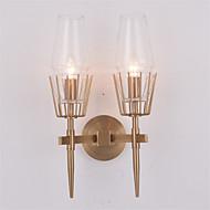 billige Vegglamper-Nytt Design Moderne / Nutidig / Traditionel / Klassisk Vegglamper Stue / Soverom Metall Vegglampe 110-120V / 220-240V 60 W