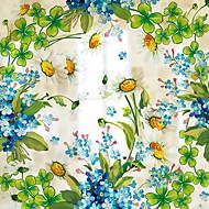 baratos Películas e Adesivos de Janela-Filme de Janelas e Adesivos Decoração Floral Floral PVC Adesivo de Janela