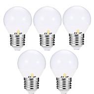 billige Globepærer med LED-EXUP® 5pcs 5 W 400-450 lm E14 / E26 / E27 LED-globepærer G45 12 LED perler SMD 2835 Varm hvit / Kjølig hvit 110-130 V