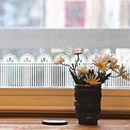 baratos Películas e Adesivos de Janela-Filme de Janelas e Adesivos Decoração Moderna / Comum Sólido / Listrado PVC Adesivo de Janela / Fofo