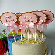 baratos Utensílios de Decoração-Ferramentas bakeware Malha de Poliéster Extensível 120g / m2 Aniversário Para utensílios de cozinha / para bolo Sobremesa decoradores 5pçs