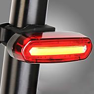 LED Cykellys Baglygte til cykel sikkerhedslys baglygter Cykling Vandtæt Bærbar Sødt Opladeligt litiumbatteri 120 lm Camping / Vandring / Grotte Udforskning Cykling / ABS