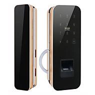 billige Intelligente låser-Factory OEM Intelligent Lås Smart hjemme sikkerhet System RFID / Tilfeldige sikkerhetskodeinnstillinger Hjem / Hjem / kontor / Soveværelse (Lås opp modus Fingeravtrykk / Passord / Mekanisk nøkkel)