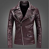 mænd går ud jakke - solid farvet