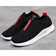 Χαμηλού Κόστους Περπάτημα-Γυναικεία Παπούτσια άνεσης Δίχτυ Άνοιξη & Χειμώνας Αθλητικά Παπούτσια Περπάτημα Επίπεδο Τακούνι Γκρίζο / Μαύρο / Κόκκινο
