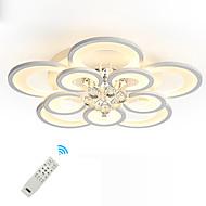 billige Taklamper-UMEI™ Geometrisk / Originale Takplafond Omgivelseslys Malte Finishes Metall Akryl Krystall, Kreativ, Nytt Design 110-120V / 220-240V Varm Hvit / Hvit / Dimbar med fjernkontroll LED lyskilde inkludert