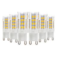 billige Bi-pin lamper med LED-YWXLIGHT® 6pcs 4 W 300-400 lm E14 / G9 / G4 LED-lamper med G-sokkel T 51 LED perler SMD 2835 Varm hvit / Kjølig hvit 220-240 V