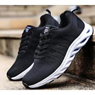 Χαμηλού Κόστους Περπάτημα-Γυναικεία Παπούτσια άνεσης Δίχτυ Καλοκαίρι Αθλητικά Παπούτσια Περπάτημα Επίπεδο Τακούνι Μαύρο / Κόκκινο / Μπλε
