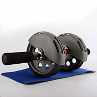 """tanie Sprzęt i akcesoria fitness-15"""" (38 cm) / 19,7"""" (około 50cm) Kółka / wałki do ćwiczeń mięśni brzucha Z Elastyczny Rozciąganie Guma Na Fitness / Siłownia / Trening Część ciała"""