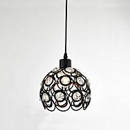 billiga Belysning-CXYlight Mini Hängande lampor Fluorescerande Målad Finishes Metall Kristall, Ministil 110-120V / 220-240V Glödlampa inte inkluderad / E26 / E27