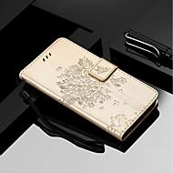 billiga Mobil cases & Skärmskydd-fodral Till Motorola MOTO G6 / Moto G6 Plus Plånbok / Korthållare / med stativ Fodral Katt / Träd Hårt PU läder för MOTO G6 / Moto G6 Plus / Moto E5 Plus