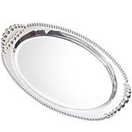 billiga Bordsservis-1 st Flata tallrikar servis Metall Kreativ Häftig