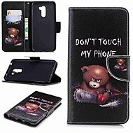 billiga Mobil cases & Skärmskydd-fodral Till Xiaomi Xiaomi Pocophone F1 / Redmi 6 Plånbok / Korthållare / med stativ Fodral Ord / fras Hårt PU läder för Redmi Note 5A / Xiaomi Redmi Note 5 Pro / Xiaomi Redmi Note 6 / Xiaomi Mi 6