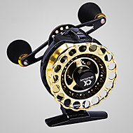 cheap Fishing-Fishing Reel Fly Reel 4.3:1 Gear Ratio+8 Ball Bearings Right-handed / Left-handed Fly Fishing / Bait Casting / Freshwater Fishing
