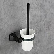 billiga Badrumsinredning-Toalettborsthållare Ny Design / Häftig Moderna Aluminum 1st Toalettborsthållare Väggmonterad