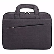 billige Computertasker-Nylon Helfarve Laptoptaske Solid Helfarve Sort / Mørkeblå / Lysegrå