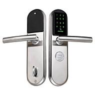 billige Dørlås-Factory OEM Intelligent Lås Smart hjemme sikkerhet System RFID / Flere dørkombinasjonsmodus Leilighet / Hotell / Kontor (Lås opp modus Passord / Mekanisk nøkkel / Kort)