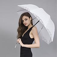 "billiga Brudparaplyer-Posthandtag Bröllop / Dagligen Paraply Unik bröllopsdekor / Paraply / parasoll 35""(Approx.89cm)"