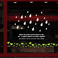 tanie סרטים ומדבקות לחלון-Folie okienne i naklejki Dekoracja Nowoczesny / Zwyczajny Groszki / Prosty Polichlorek winylu Naklejka okienna / Nowoczesne