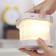 billige Lamper-1pc bluetooth høyttaler boklampe usb oppladbart sammenleggbart ledd natt musikkbord skrivebordslampe