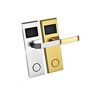 billige Intelligente låser-Factory OEM Rustfritt Stål Intelligent Lås Smart hjemme sikkerhet System RFID Leilighet / Hotell (Lås opp modus Passord / Mekanisk nøkkel / Kort)