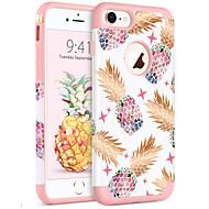 billiga Mobil cases & Skärmskydd-BENTOBEN fodral Till Apple iPhone 8 / iPhone 7 Stötsäker / IMD / Mönster Skal Växter / Frukt Mjukt PC / Kiselgel för iPhone 8 / iPhone 7