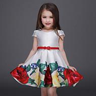 Gyerekek / Kisgyermek Lány Virágos Rövid ujjú Ruha