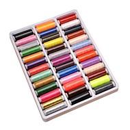 tanie Przechowywanie biżuterii-39 kolorów każdy szt. Nici do szycia nici do szycia nici spolyester do szycia nici do szycia części maszyn