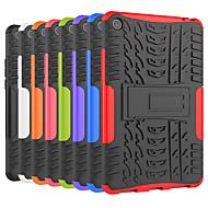 billiga Mobil cases & Skärmskydd-fodral Till Xiaomi Xiaomi Tab 4 Stötsäker / med stativ Skal Tegel / Rustning Hårt PC för Xiaomi Tab 4