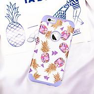 billiga Mobil cases & Skärmskydd-BENTOBEN fodral Till Apple iPhone 6 / iPhone 6s Stötsäker / IMD / Mönster Skal Växter / Frukt Mjukt PC / Kiselgel för iPhone 6s / iPhone 6