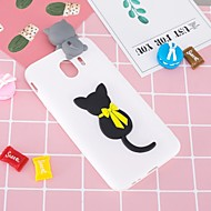 Case For Samsung Galaxy J6 / J4 Pattern / DIY Back Cover Cat Soft TPU for J7 (2017) / J7 (2016) / J6