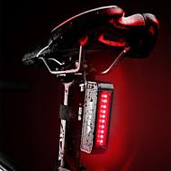 Baglygte til cykel LED Cykellys Cykling Vandtæt, Bærbar, Hurtig Frigivelse Genopladeligt Li-ion Batteri 50 lm Rød Cykling