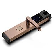 billige Intelligente låser-Factory OEM Rustfritt Stål Intelligent Lås Smart hjemme sikkerhet System RFID / Anti peeping passord Hjem / Hjem / kontor / Leilighet (Lås opp modus Fingeravtrykk / Passord / Mekanisk nøkkel)