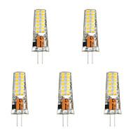 billige Bi-pin lamper med LED-5pcs 3 W 300 lm G4 LED-lamper med G-sokkel T 28 LED perler SMD 2835 Varm hvit / Hvit 85-265 V