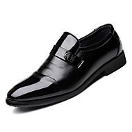 Hombre Zapatos Confort PU Otoño Oxfords Negro / Fiesta y Noche / Fiesta y Noche