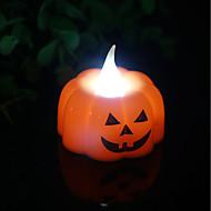 billige Lamper-brelong halloween bar fest dekorasjon ledet gresskar lys natt lys 1pc