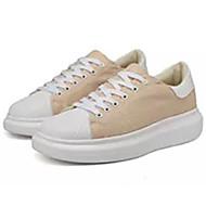 baratos Sapatos de Tamanho Pequeno-Homens Sapatos Confortáveis Lona Verão Tênis Preto / Bege / Azul