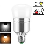billige Globepærer med LED-1pc 12 W 1200 lm E26 / E27 LED-globepærer 24 LED perler SMD 2835 Nytt Design / Lysstyring Varm hvit / Kjølig hvit 85-265 V