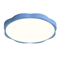 billige Taklamper-Sirkelformet Takplafond Omgivelseslys Malte Finishes Akryl Søtt, Smuk 220-240V Varm Hvit / Hvit LED lyskilde inkludert / Integrert LED / E26 / E27