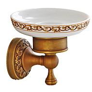 Χαμηλού Κόστους Σειρά μπάνιο-Πιάτα Σαπούνι & Κάτοχοι Νεό Σχέδιο / Απίθανο Μοντέρνα Ορείχαλκος 1pc Επιτοίχιες