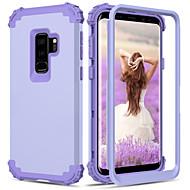 billiga Mobil cases & Skärmskydd-BENTOBEN fodral Till Samsung Galaxy S9 Plus / S9 Stötsäker Fodral Enfärgad Hårt Silikon / PC för S9 / S9 Plus